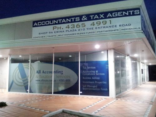 All Accounting  Taxation Services - Insurance Yet