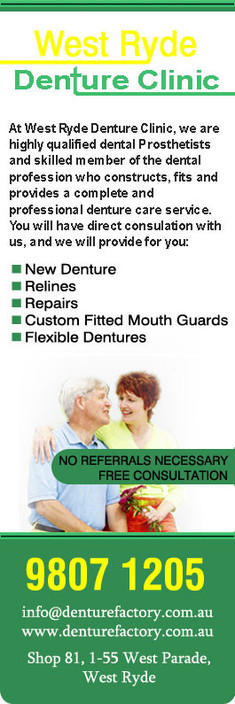 West Ryde Denture Clinic - Insurance Yet